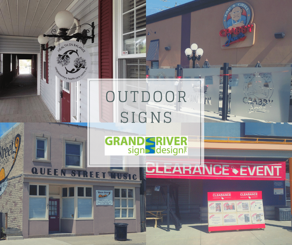 Outdoor Signs FB